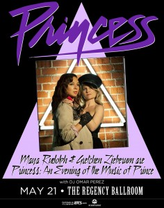 Prince Tribute by SNL's Maya Rudolph and Gretchen Lieberum at the Regency Ballroom in SF Tomorrow Night