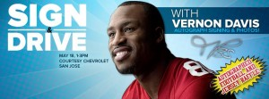 Vernon Davis Courtesy Chevrolet Bay Area
