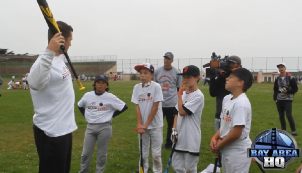 Buster Posey ProCamps 2014 St. Ignatius