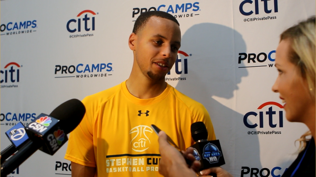 The Stephen Curry ProCamps Interview