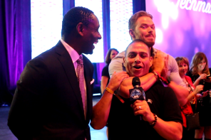 Bay Area HQ Movies & TV: Twilight's Kellan Lutz & David Harewood Talk Techmanity & the Techmanitarian Awards