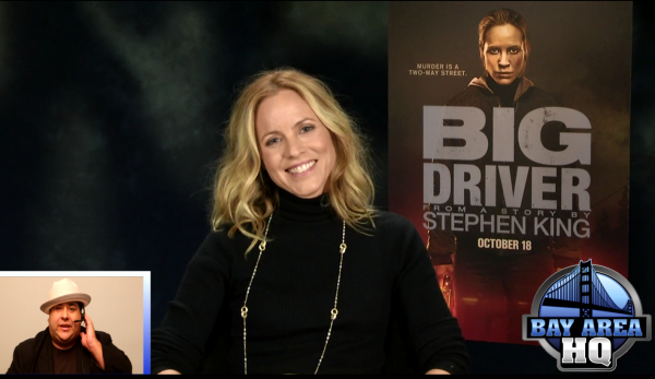 Maria Bello Big Driver Interview Bay Area HQ