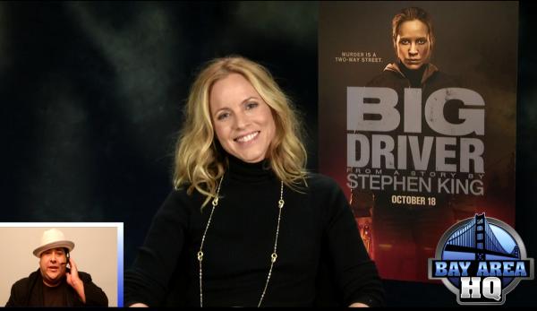 Maria Bello Big Driver Interview Bay Area HQ