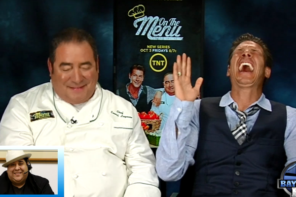 On the Menu Episode 1 Emeril Lagasse Ty Pennington
