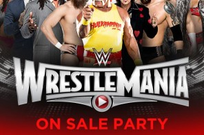 Wrestlemania 31 Pre-Sale Party with Hulk Hogan, Daniel Bryan & More WWE Superstars Today at Levi's Stadium!
