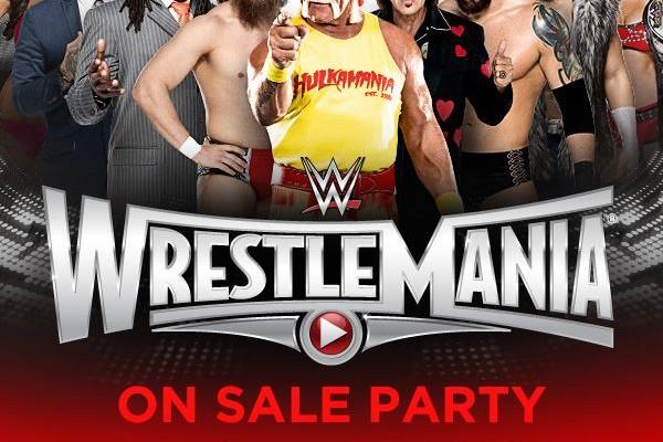 Wrestlemania 31 Party Levi's Stadium Hulk Hogan