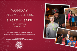 Holiday Heroes Fundraiser for Wender Weis Foundation for Children to Take Place 12/8 at AT&T Park