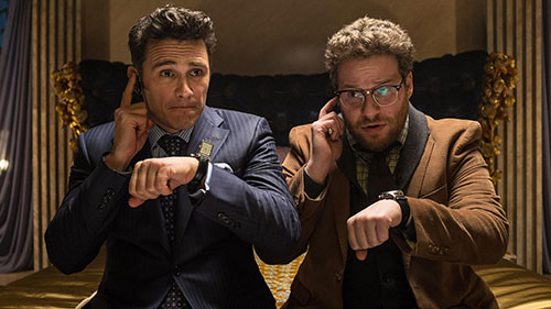 Seth Rogen in 'The Interview'