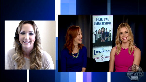 Rebecca Romijn Lindy Booth The Librarians
