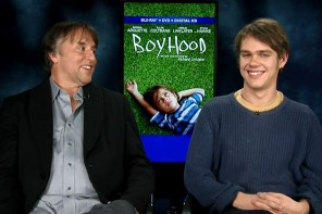 """Boyhood"" Interview & Commentary with Director Richard Linklater & Ellar Coltraine: Video Games, The Pontiac GTO & Britney Spears!"