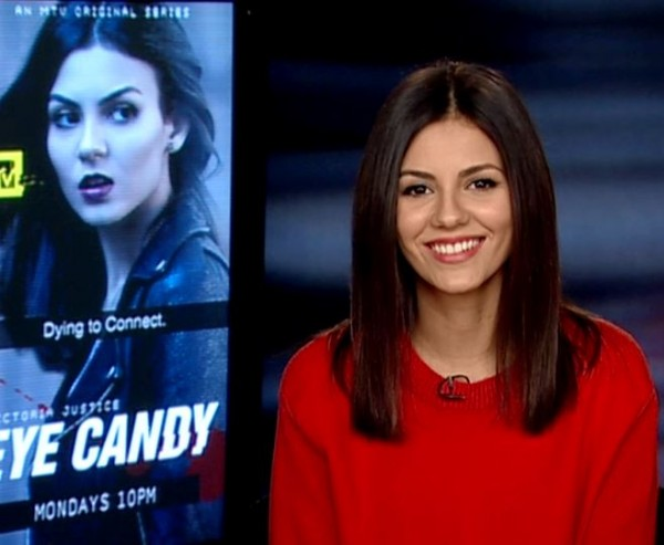 Victoria Justice Eye Candy Super Bowl Party