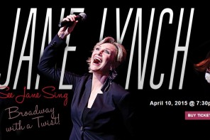 Jane Lynch to Perform at Palace of Fine Arts Theater in SF Solo Concert Debut