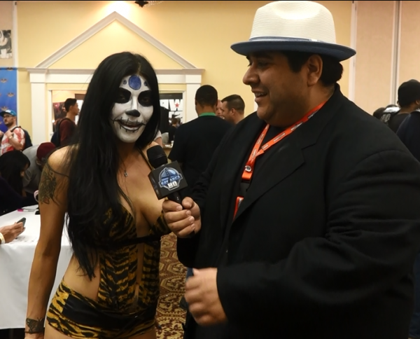 2015 Wrestlecon Interview Wrestlemania 31 Barbie Blank Shelly Martinez Velvet Sky