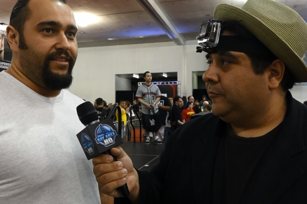Alexander Rusev 2015 Wrestlemania 31 Axxess Interview