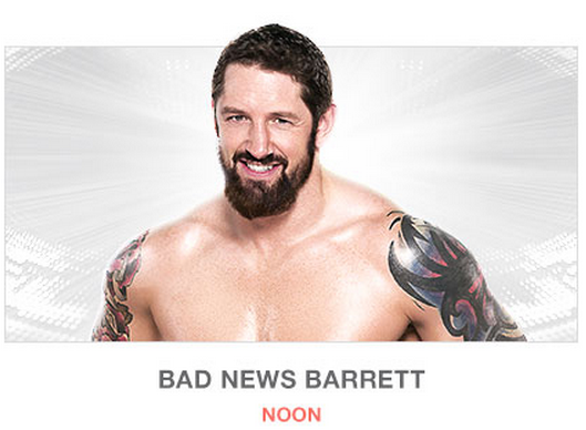 Bad News Barrett Wrestlemania 31