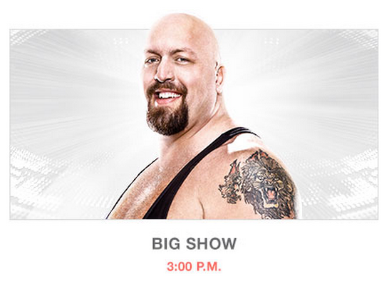 Big Show Wrestlemania 31