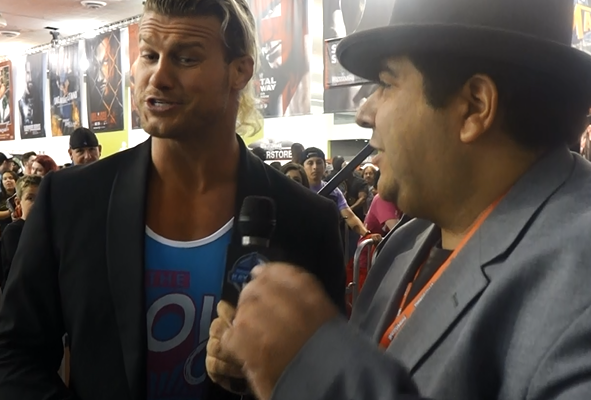 Dolph Ziggler 2015 Wrestlemania 31 Axxess Interview