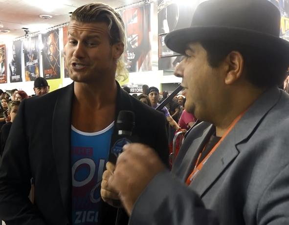 Dolph Ziggler 2015 Wrestlemania 31 Axxess Interview