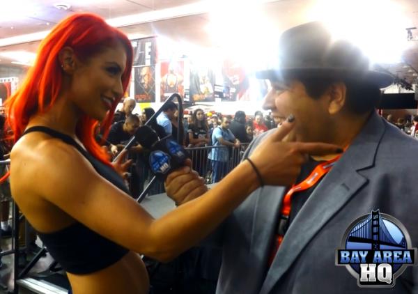Eva Marie WWE Total Divas Wrestlemania 31 Axxess San Jose