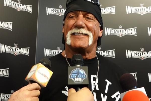 Hulk Hogan San Francisco Wrestlemania 31 Interview