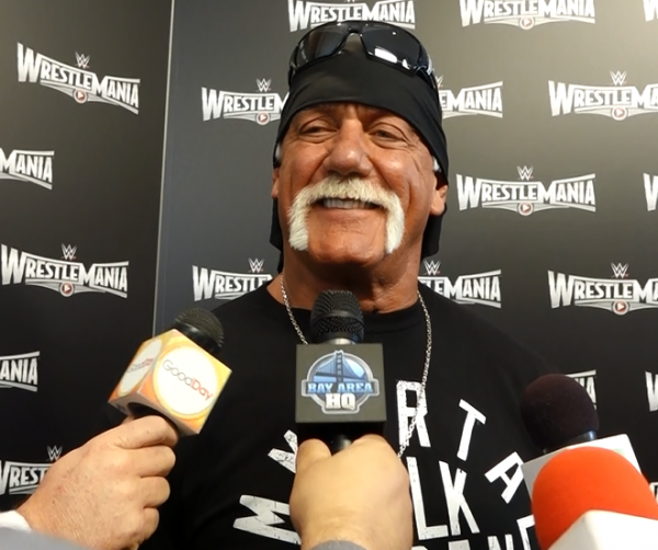 Hulk Hogan San Francisco Wrestlemania 31 Interview