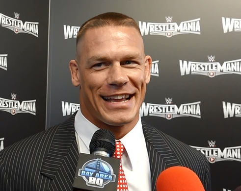John Cena San Francisco Wrestlemania 31 Interview