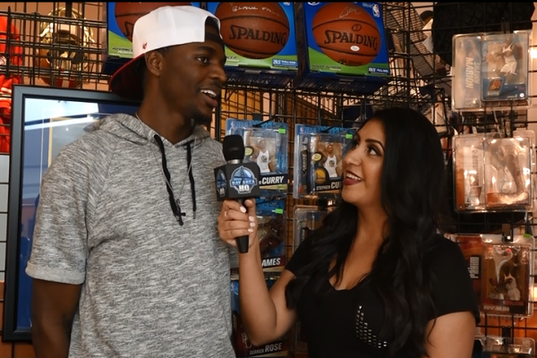 Justin Holiday Golden State Warriors Classic Materials Interview