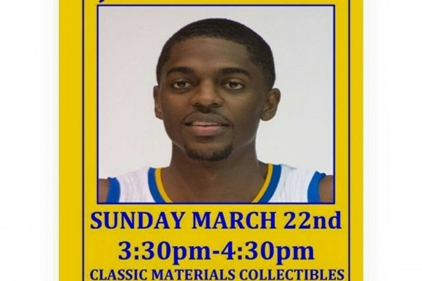 Justin Holiday Golden State Warriors Classic Materials Meet Greet