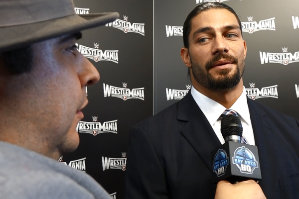 Roman Reigns Wrestlemania 31 San Francisco Levis Stadium Interview