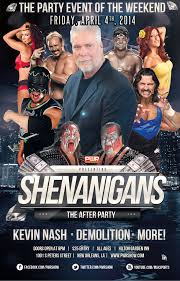 Shenanigans Party with Kevin Nash