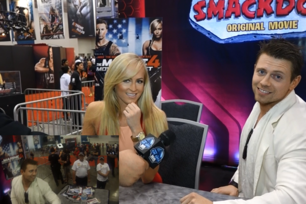 The Miz Summer Rae Wrestlemania 31 Axxess 2015