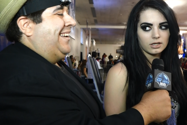 WWE Total Divas Paige WWE Wrestlemania 31 Axxess Interview