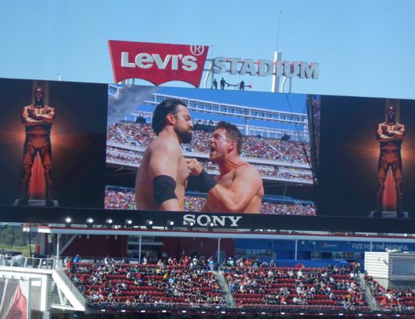 Wrestlemania 31 Levi's Stadium