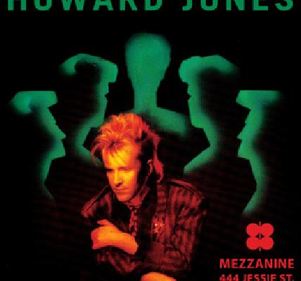 Howard Jones Mezzanine San Francisco Tour 2015