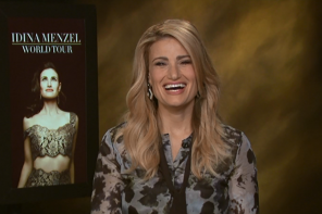 WATCH: Idina Menzel on Kissing Colin Farrell, Favorite Disneyland Ride, And Her World Tour Coming to The Bay Area!