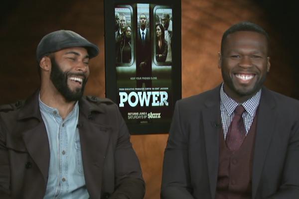 50 Cent Omari Hardwick Power Season 2
