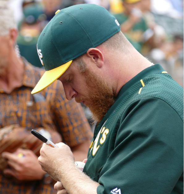 As autographs