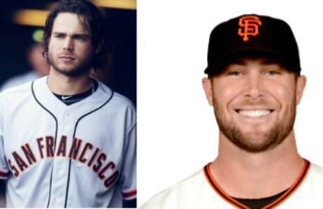 Brandon Crawford Hunter Strickland Leftys Bay Area Autograph Signings