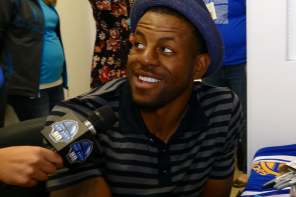 NBA Finals MVP Andre Iguodala Meets Fans At Microsoft Store for Windows 10 Launch