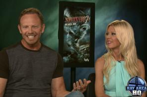 Ian Ziering & Tara Reid Talk Sharknado 3 Cameo Bingo Cards, Donald Trump, Kim Kardashian & More!