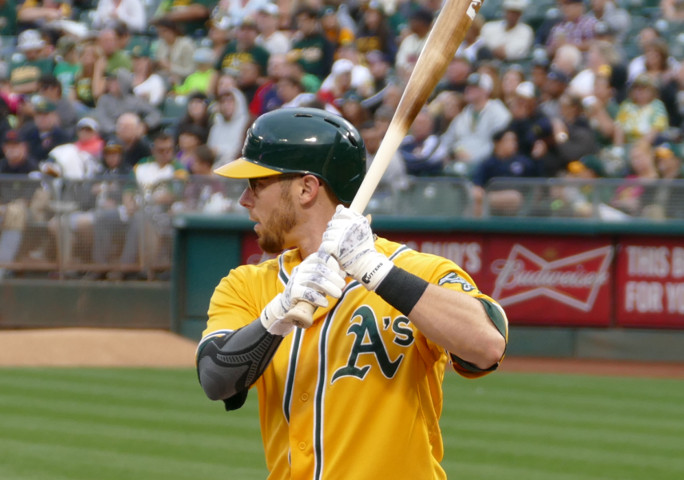 Oakland Athletics Eric Sogard 2015