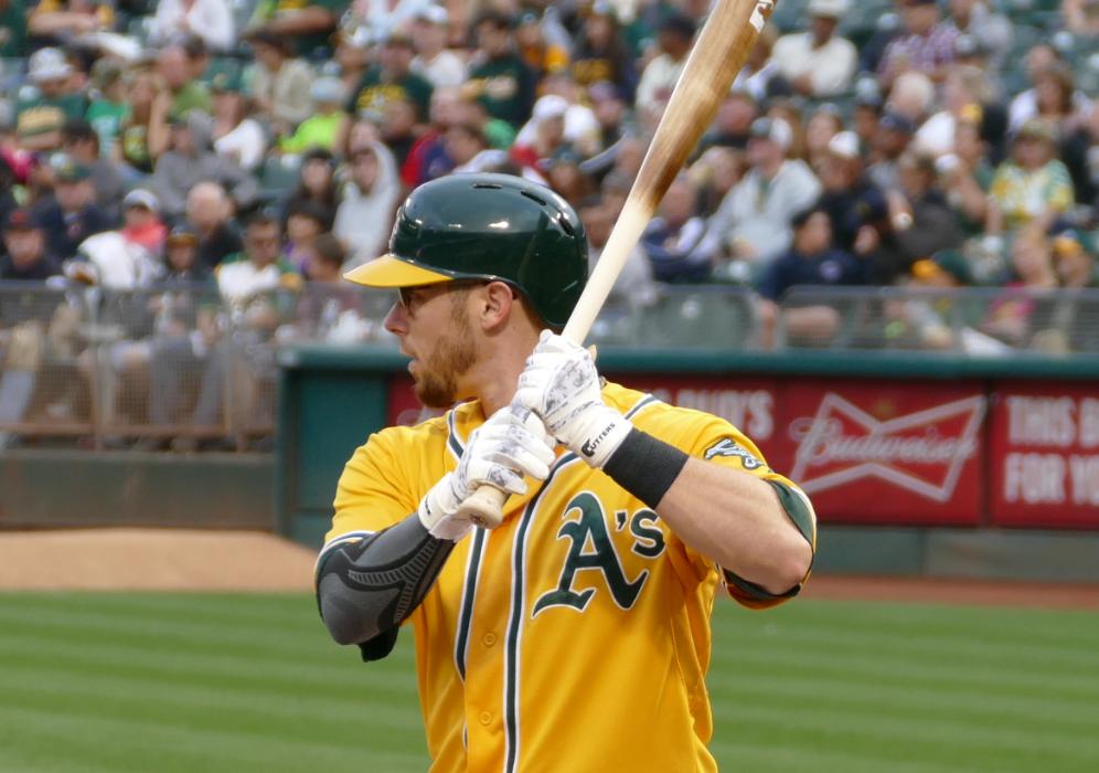 Oakland Athletics Eric Sogard 2015