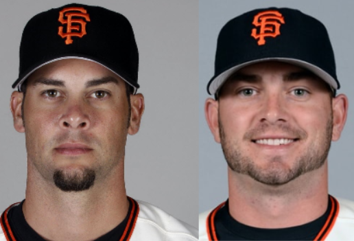 Ryan Vogelsong & Chris Heston Autograph Signing Bay Area Leftys