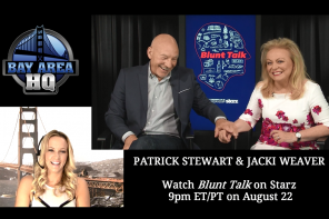 """WATCH: Blunt Talk's Patrick Stewart: """"I'm Mad As Hell, And I'm Not Taking it Any More!"""""""