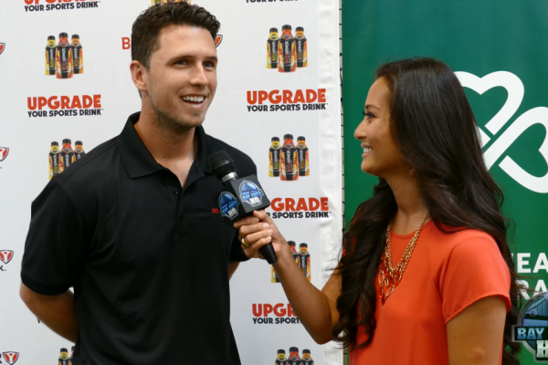 Buster Posey Body Armor Surprise High School Sacred Heart Cathedral Prep