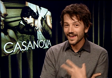 Diego Luna Casanova Star Wars Rogue One Biggs Darklighter Interview