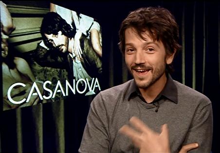 Diego Luna Casanova Star Wars Rogue One Biggs Darklighter Interview