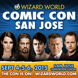 San Jose Wizard World Comic Con 2015 Paige Roman Reigns Bruce Campbell Billy Boyd