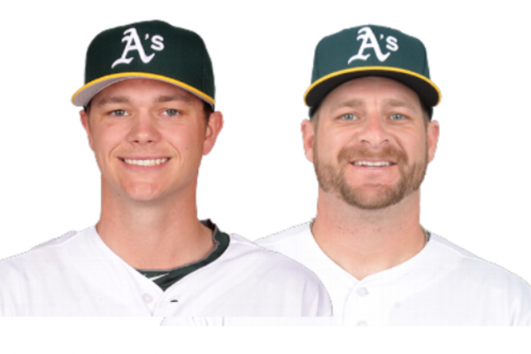 Sonny Gray Stephen Vogt Oakland A's Meet And Greet Bay Area Autograph Signing Leftys