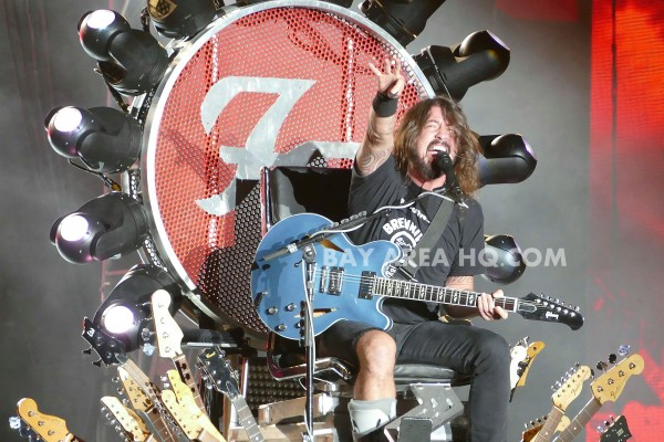 Dave Grohl Foo Fighter Dreamforce Dreamfest Gala 2015